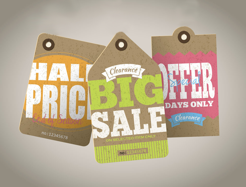 Sale Hang Tags