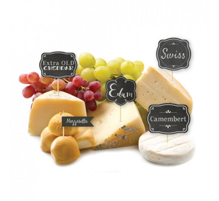 Die Cut Cheese Hang Tags