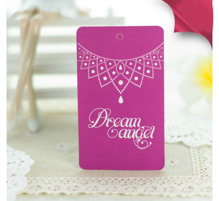 Rectangular Jewelry Hang Tags