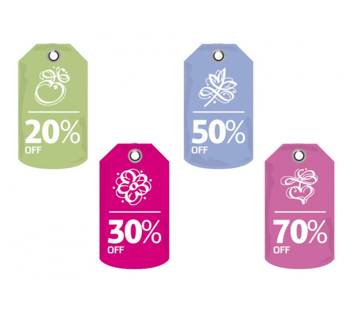 Die Cut Retail Tags
