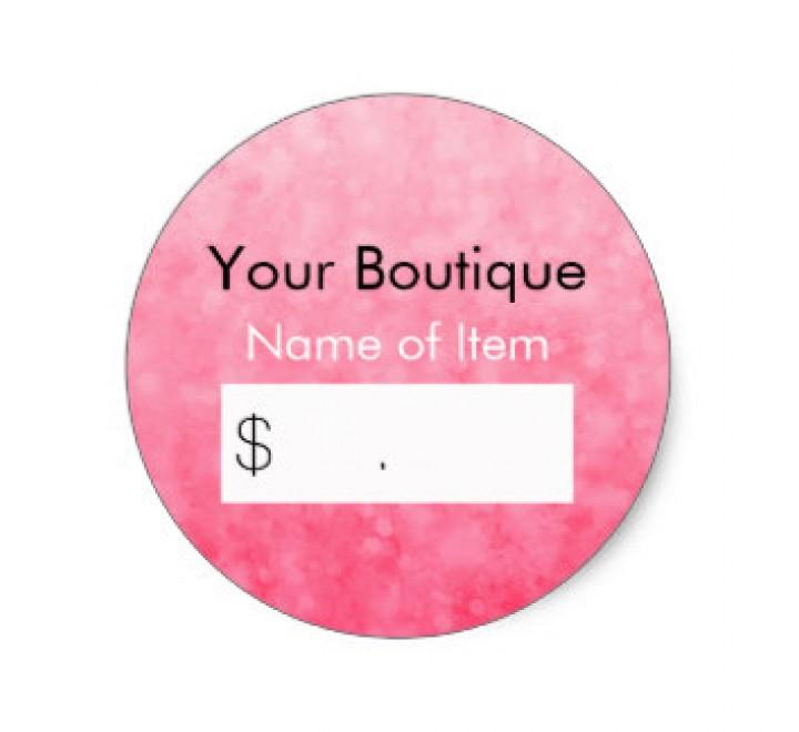 Round Retail Tags