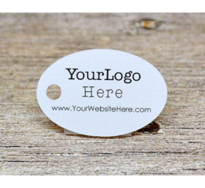 Round Jewelry Hang Tags