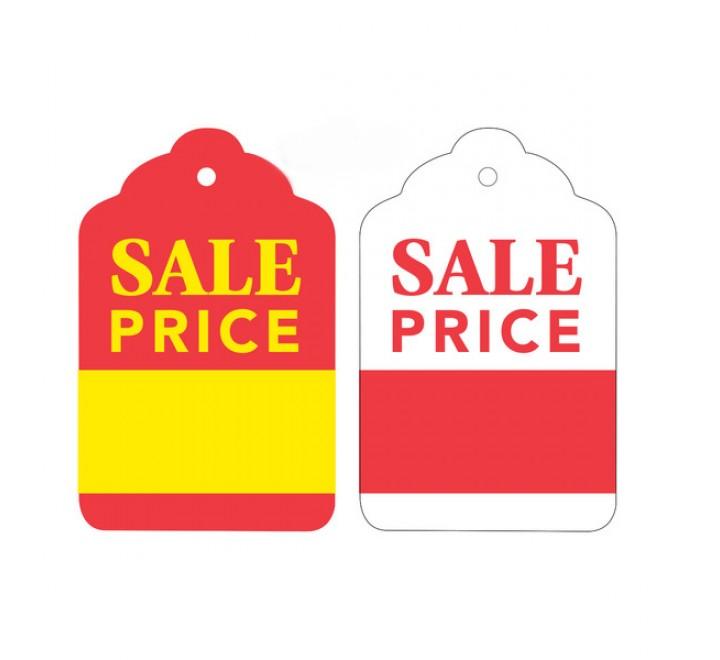 Die Cut Sale Hang Tags