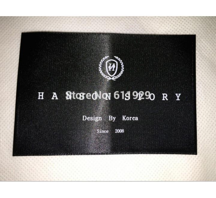 Rectangular Silkscreen Printed Hang Tags