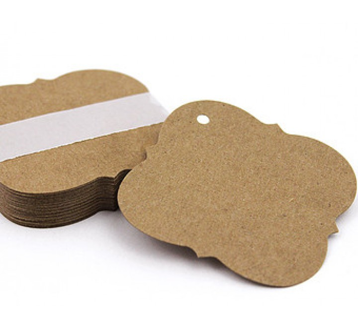 Square Tear Off Tags