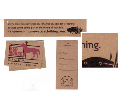 Custom Paper Hang Tags