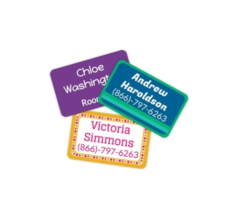 Custom Bubble Square tags
