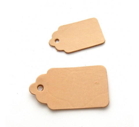 Die Cut Luggage Tags