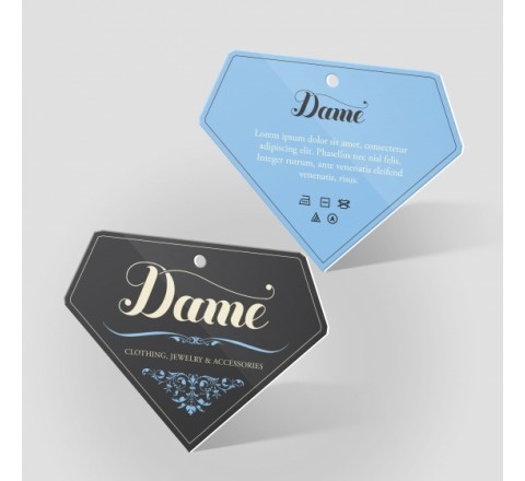Die Cut Paper Hang Tags