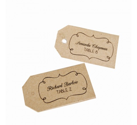 Die Cut Gift Hang Tags