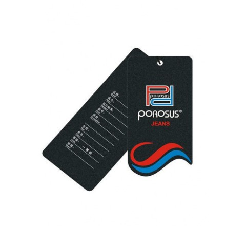 Die Cut Plastic Hang Tags