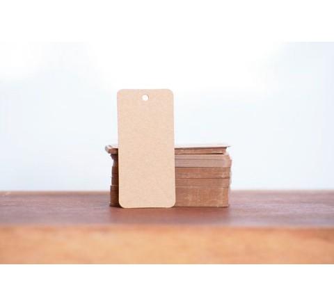Rectangular Card Hang Tags
