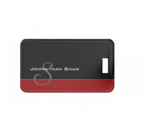 Rectangular Elegant Series Tags