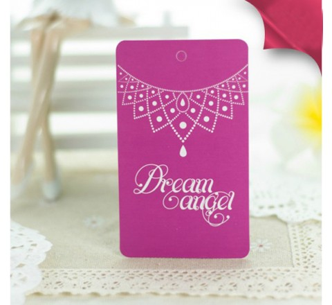 Rectangular Jewelry Hang Tags