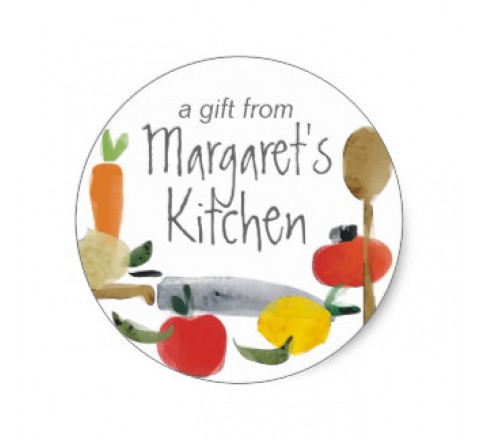 Round Kitchen Supplies Tags