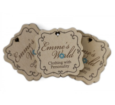 Square Jewelry Hang Tags