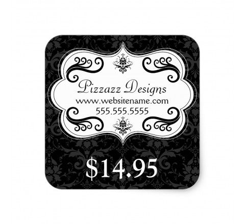Square Elegant Series Tags