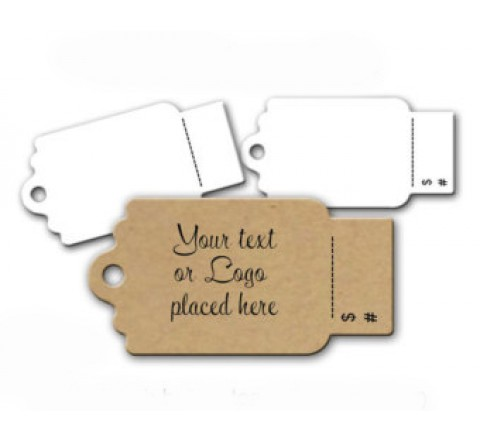 Die Cut Tear Off Tags